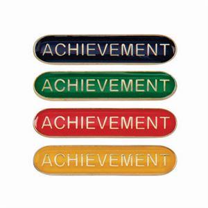 Achievement Metal School Bar Badge