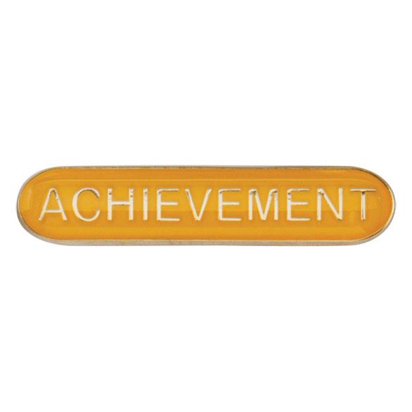 Achievement Metal School Bar Badge - SB16112Y