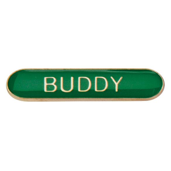 Buddy Metal School Bar Badge - SB16113G