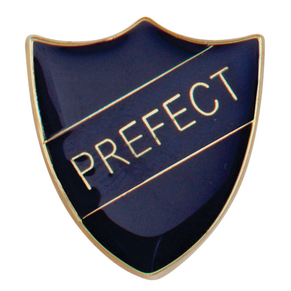 Prefect Metal School Shield Badge - SB16108B