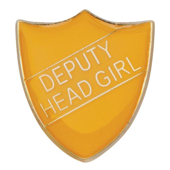 Deputy Head Girl Metal School Shield Badge - SB16102Y