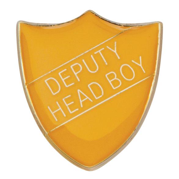 Deputy Head Boy Metal School Shield Badge - SB16103Y