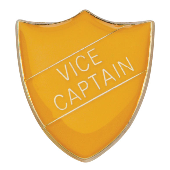 Vice Captain Metal School Shield Badge - SB16111Y
