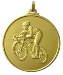 Gold Economy Cycling Medal (size: 52mm) - 196E