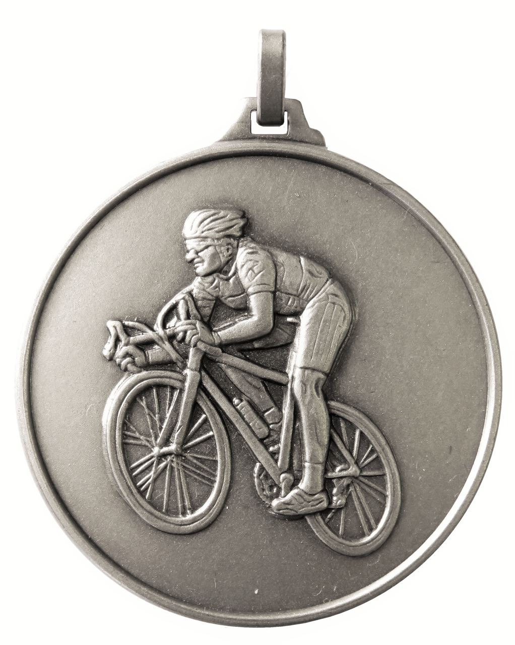 Silver Economy Cycling Medal (size: 52mm) - 196E