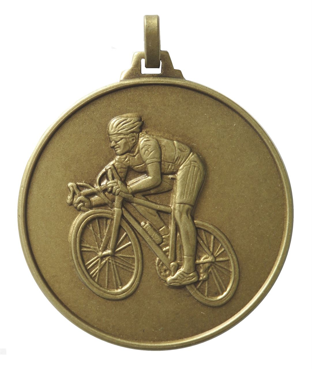 Bronze Economy Cycling Medal (size: 52mm) - 196E