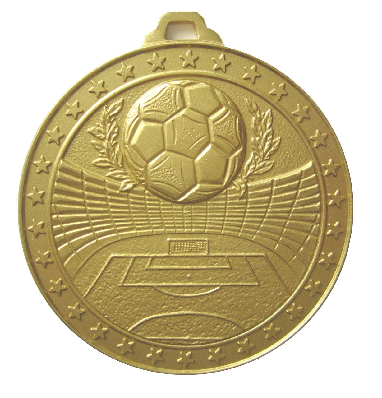 Gold Economy Football Stadium Medal (size: 60mm) - 435E