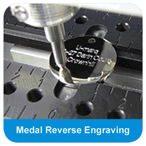 Diamond cut engraving available on this item