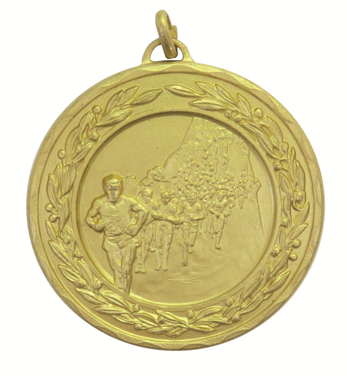 Gold Laurel Economy Marathon Medal (size: 50mm) - 4115E