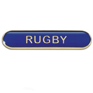 Rugby Metal School Bar Badge - SB052B