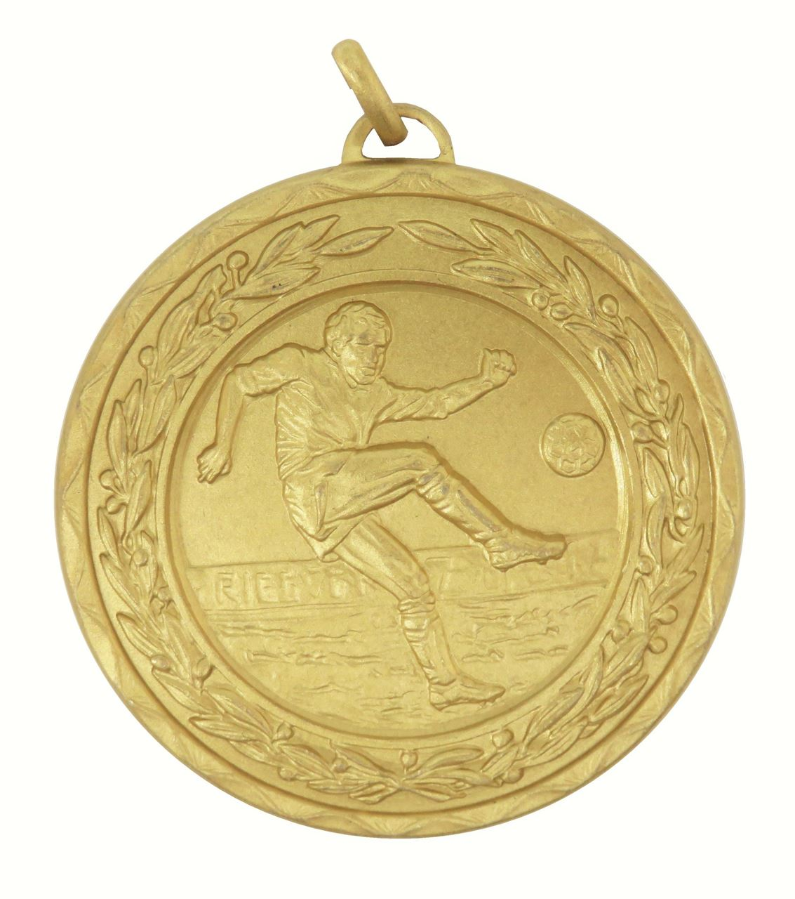Gold Laurel Economy Footballer Medal (size: 50mm) - 4040E