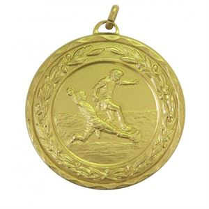Laurel Economy Football Medal
