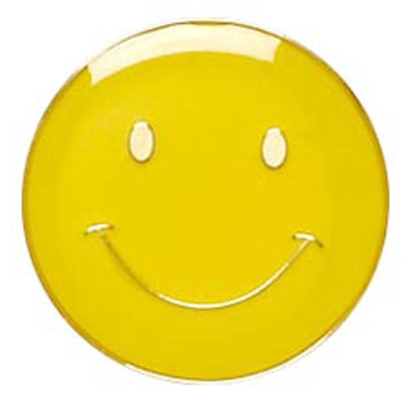 Smiley Face Metal School Button Badge - SB001Y