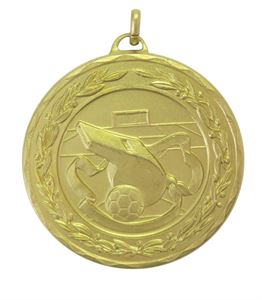 Gold Laurel Economy Football Referee Medal (size: 50mm) - 4041E