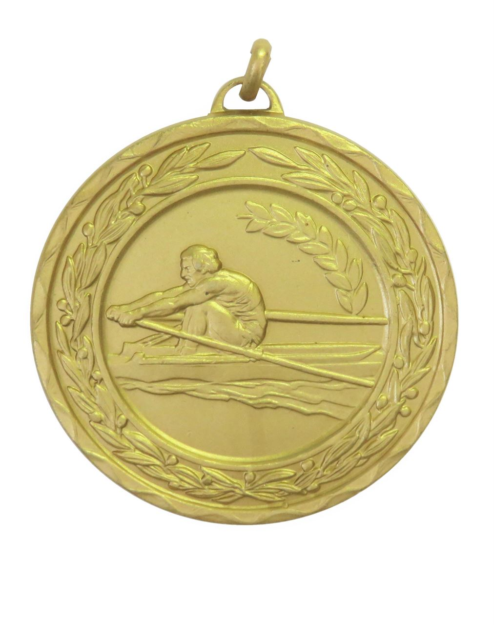 Gold Laurel Economy Rowing Medal (size: 50mm) - 4295RE