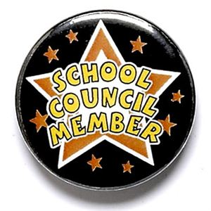 School Council Member School Button Badge - BA024