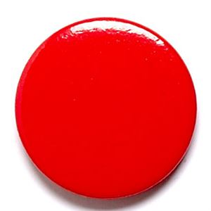 Red School Button Badge - BA008