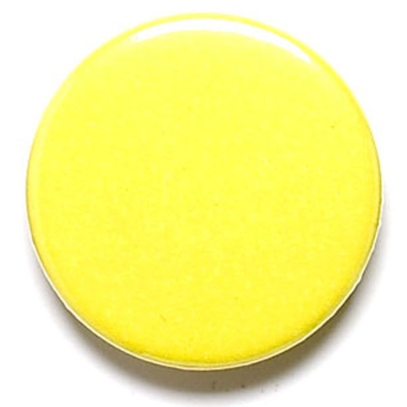 Yellow School Button Badge - BA010