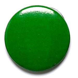 Green School Button Badge  - BA011