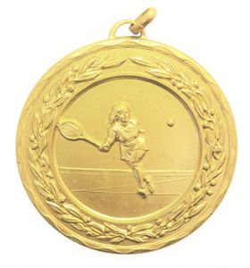 Laurel Economy Ladies' Tennis Medal