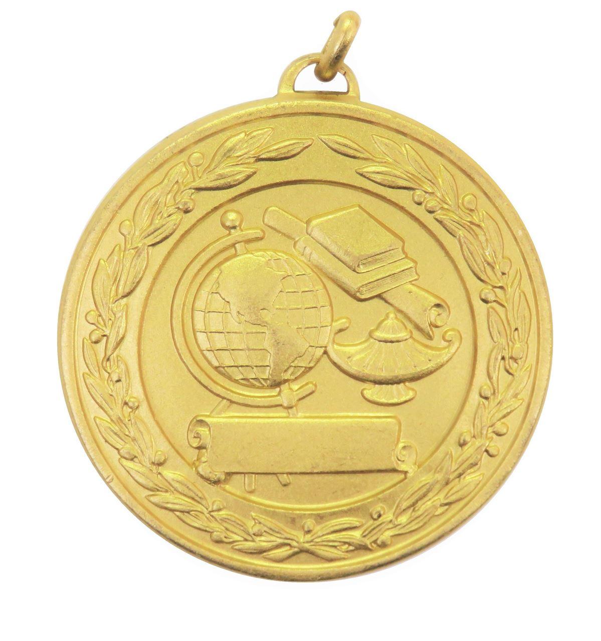 Gold Laurel Economy Academic Medal (size: 50mm) - 9599E