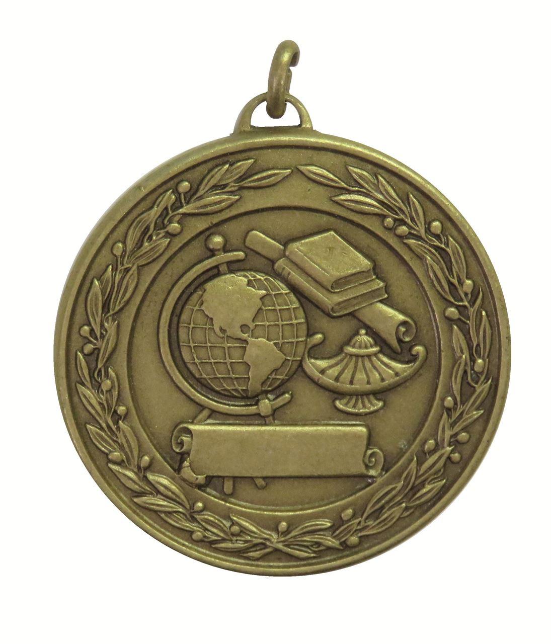 Bronze Laurel Economy Academic Medal (size: 50mm) - 9599E