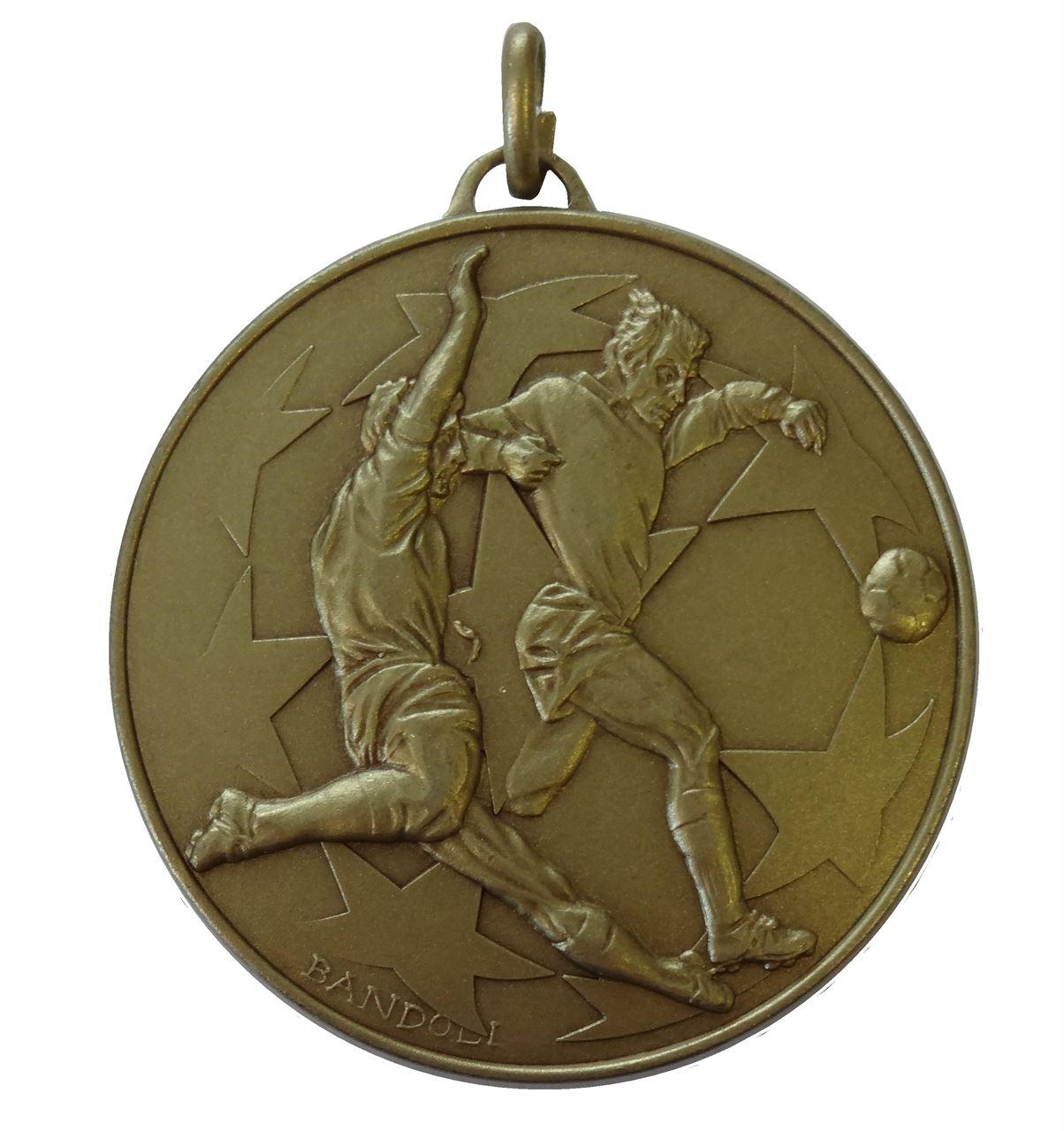 Bronze Economy Football Stars Medal (size: 50mm) - 437E