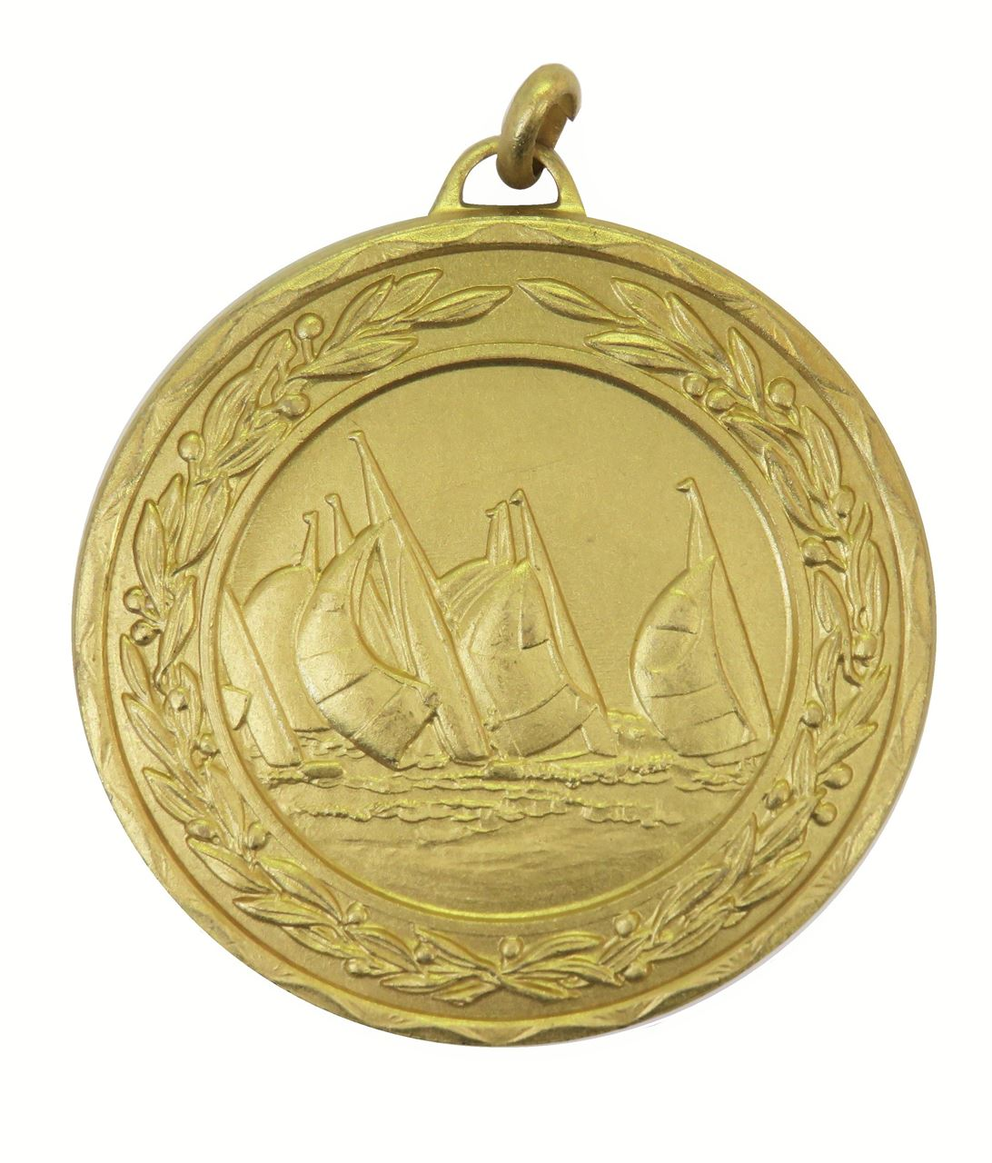 Gold Laurel Economy Sailing Medal (size: 50mm) - 4300E