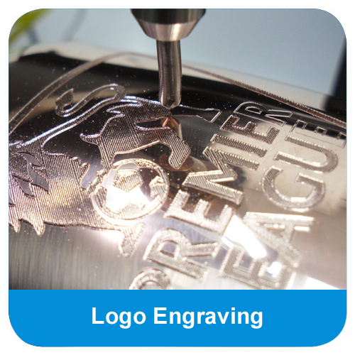 High quality logo engraving