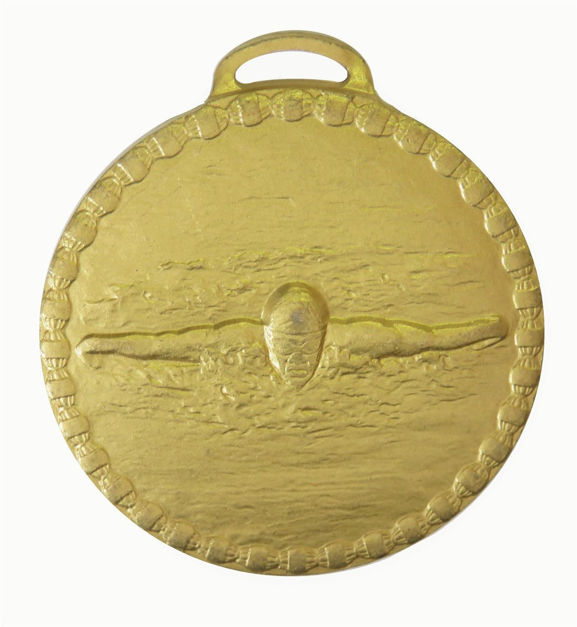 Gold Male Butterfly Stroke Value Swimming Medal (size: 50mm) - 676E
