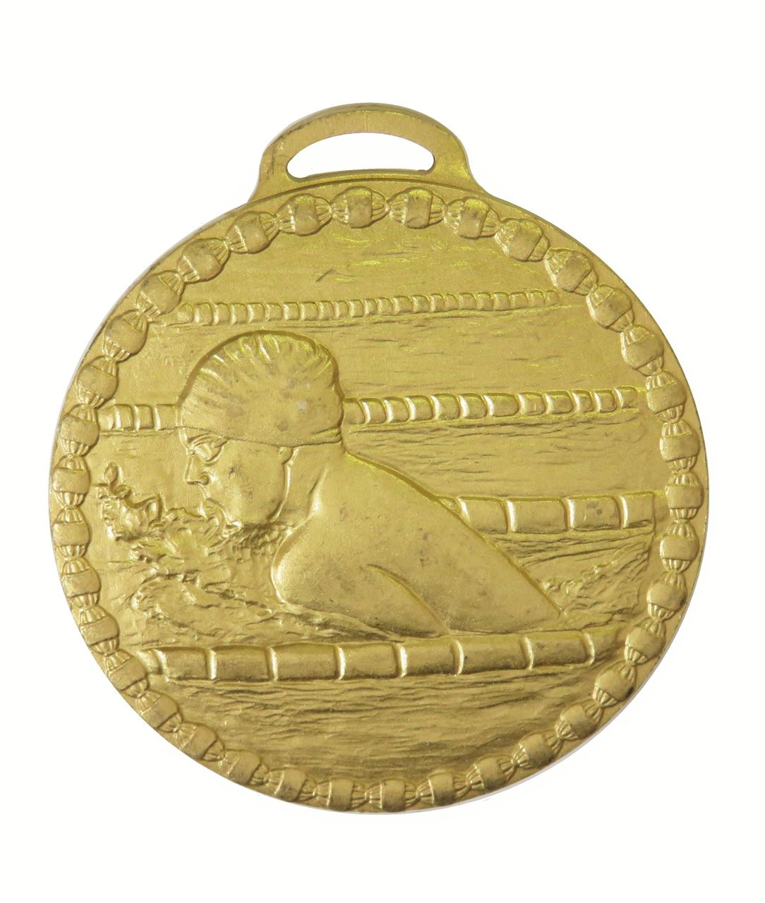 Gold Male Breaststroke Value Swimming Medal (size: 50mm) - 678E