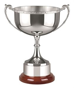 Silver Plated Celtic Mounted CM484 Prestige Cup