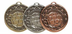 Star Design Football Medal