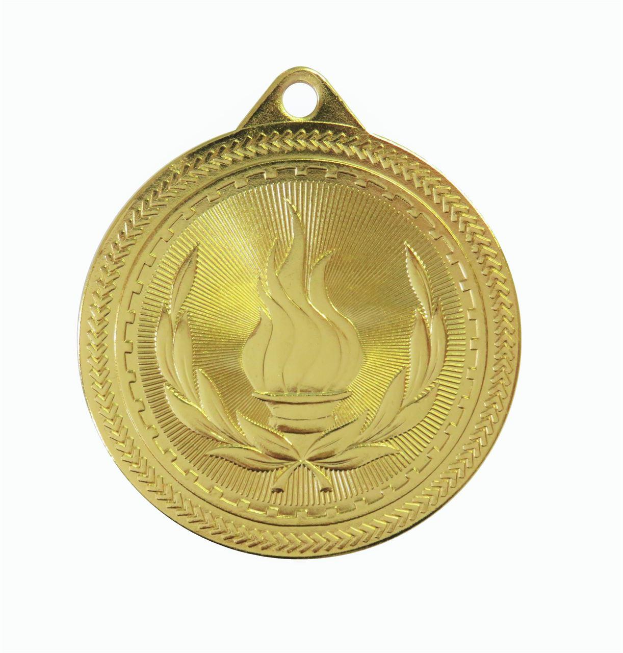 Gold Super Value Victory Medal (50mm) - 63503