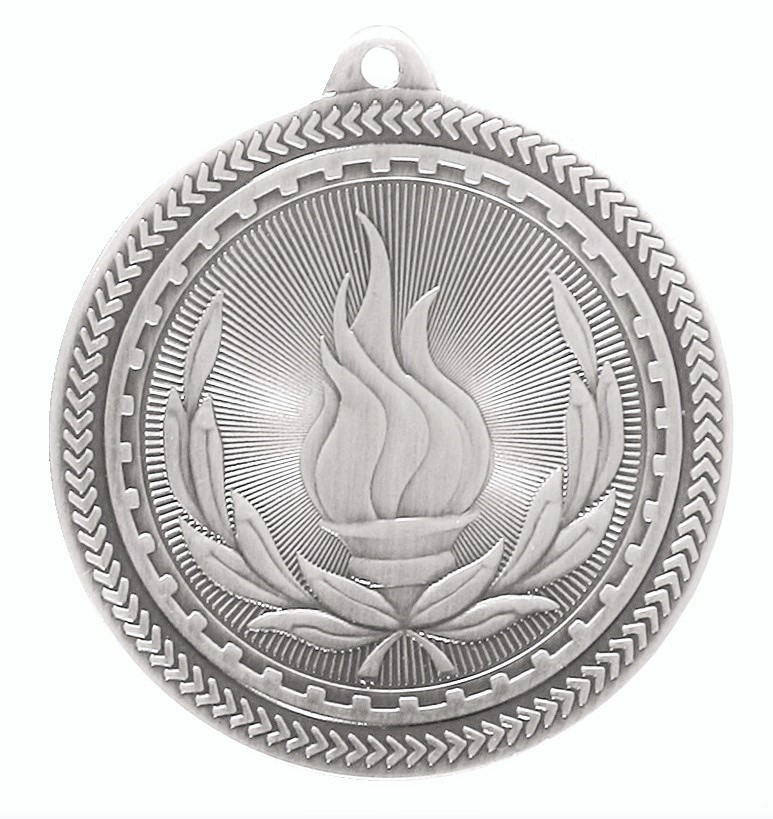 Silver Super Value Victory Medal (50mm) - 63503