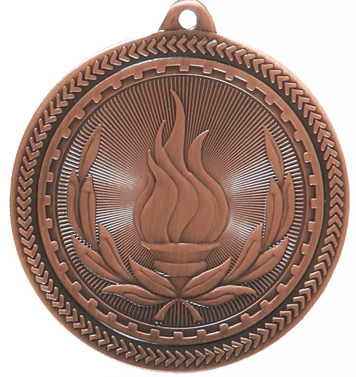 Copper Super Value Victory Medal (50mm) - 63503