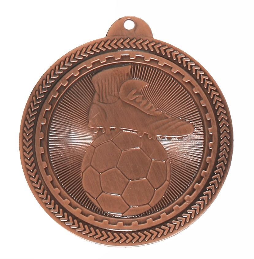 Bronze Super Value Football Medal (50mm) - 63500