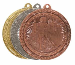 Super Value Running Medal (50mm) - 63501