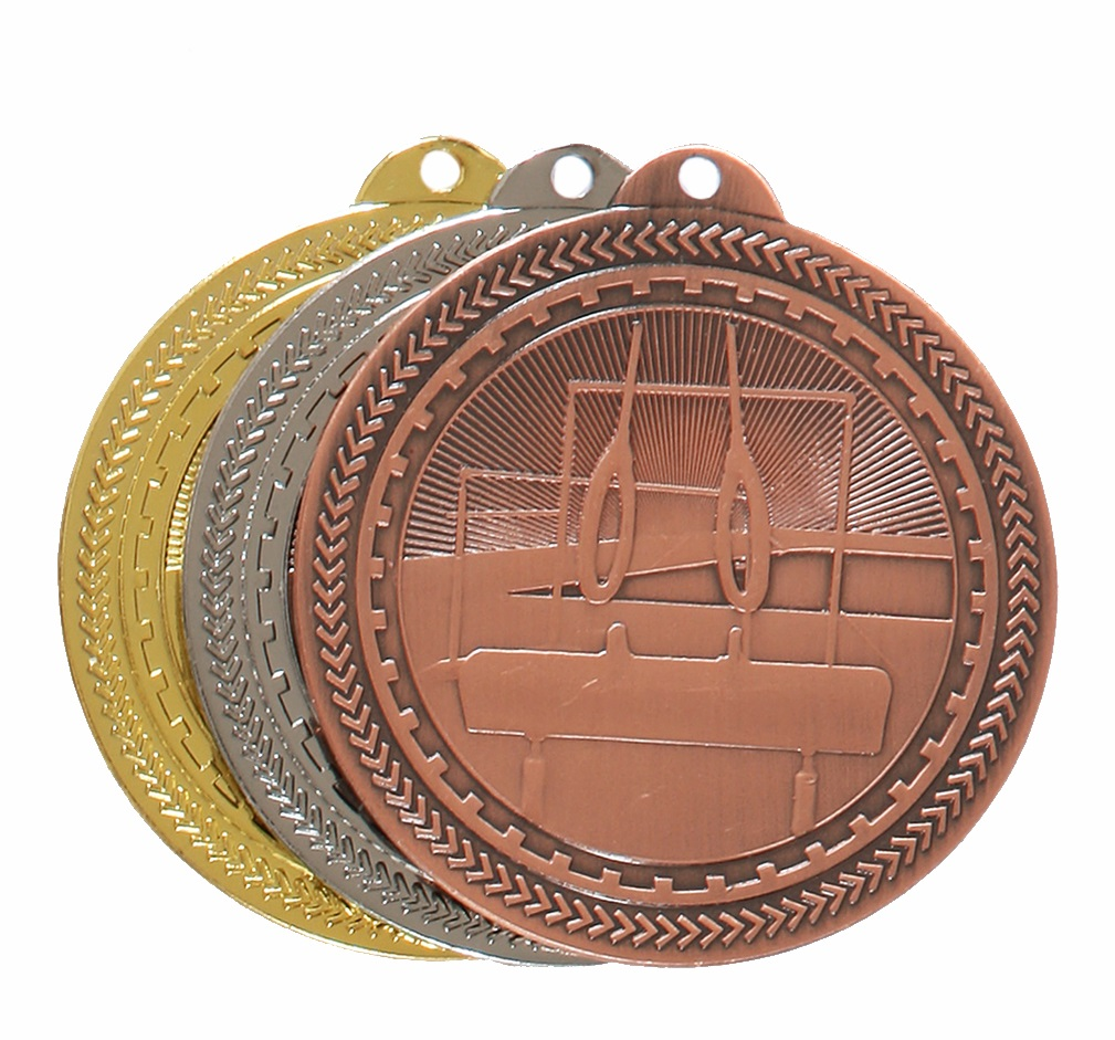 Super Value Gymnastics Medal (50mm) - 63566