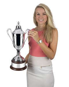 Silver Plated Supreme Formula Cup with Laurel Wreath - L590