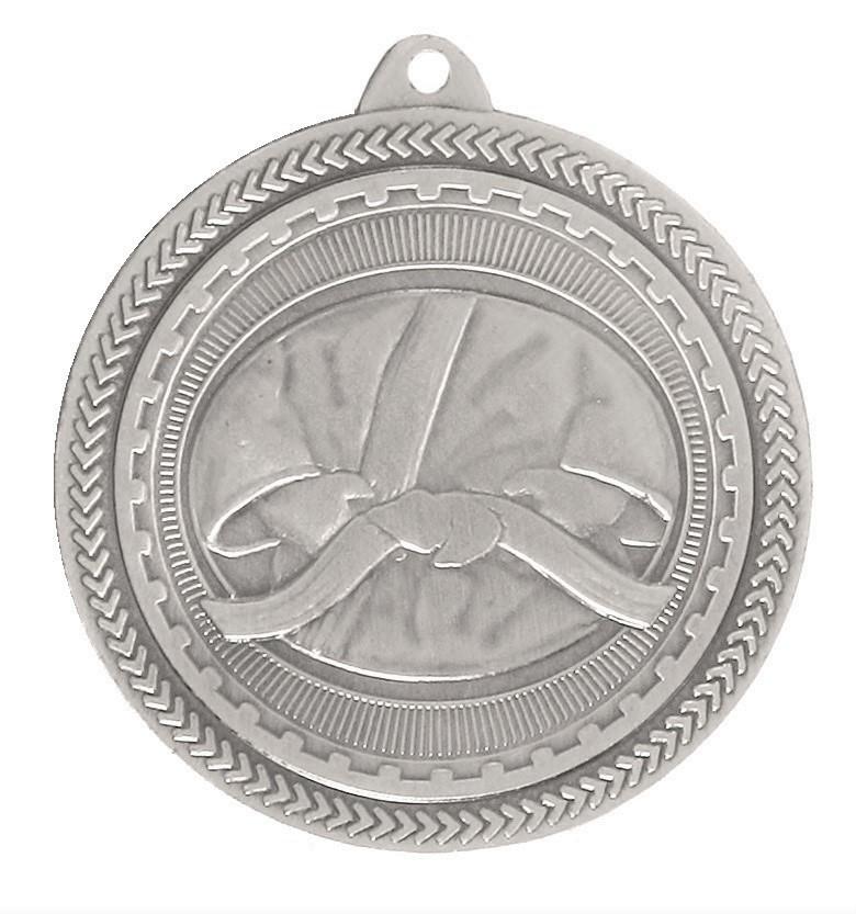 Silver Super Value Martial Arts Medal (size: 50mm) - 63504