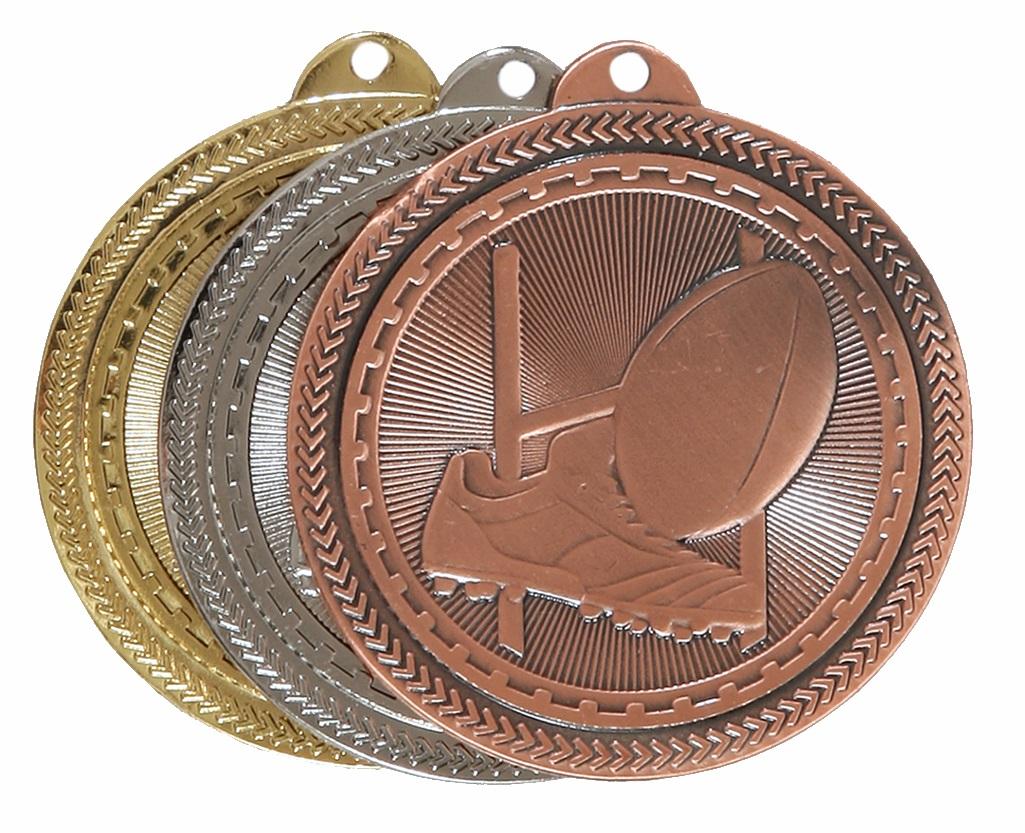 Super Value Rugby Medal (size: 50mm) - 63508