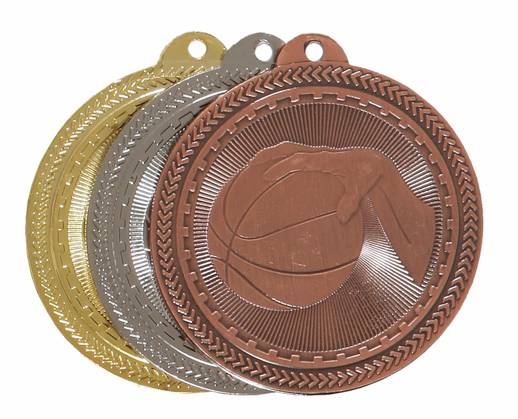 Super Value Basketball Medal (size: 50mm) - 63505