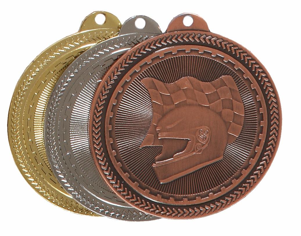Super Value Motor Racing Medal (size: 50mm) - 63509