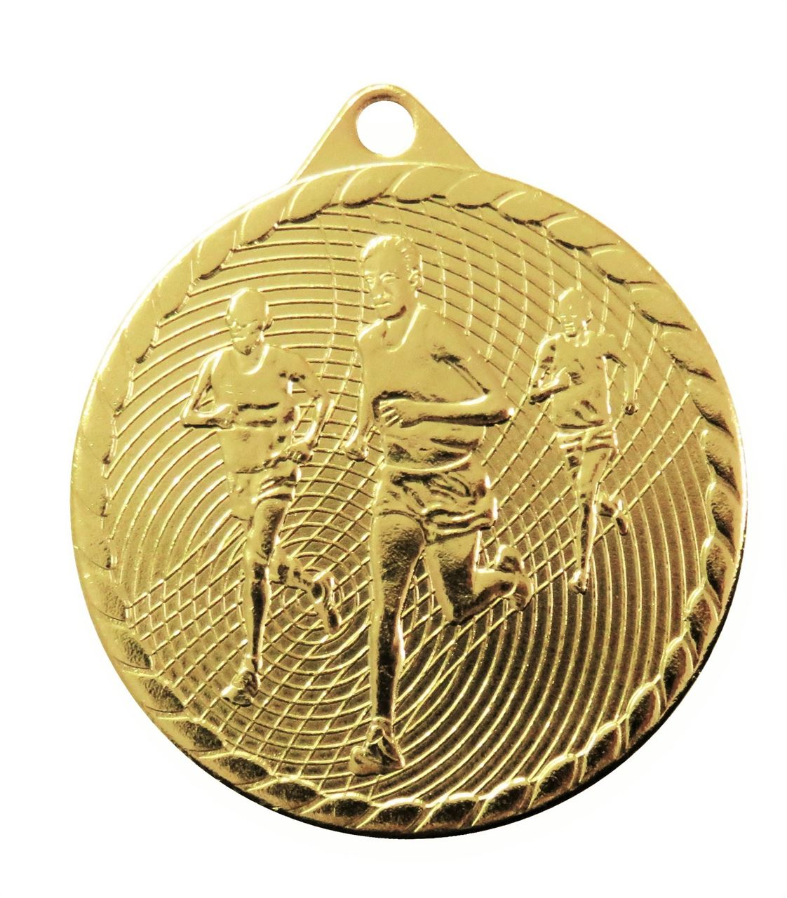 Gold Isoline Economy Running Medal (size: 50mm) - 63852