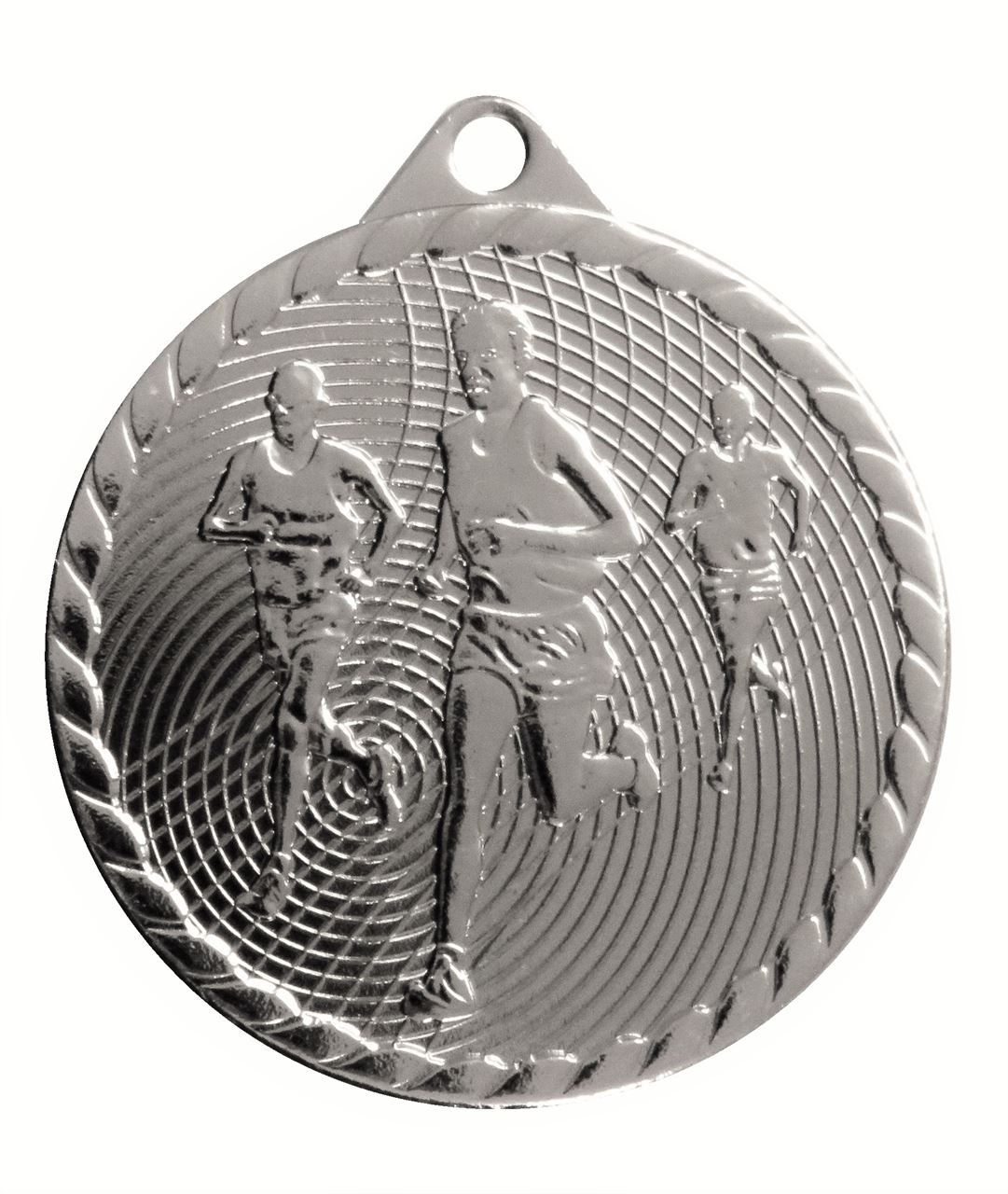 Silver Isoline Economy Running Medal (size: 50mm) - 63852