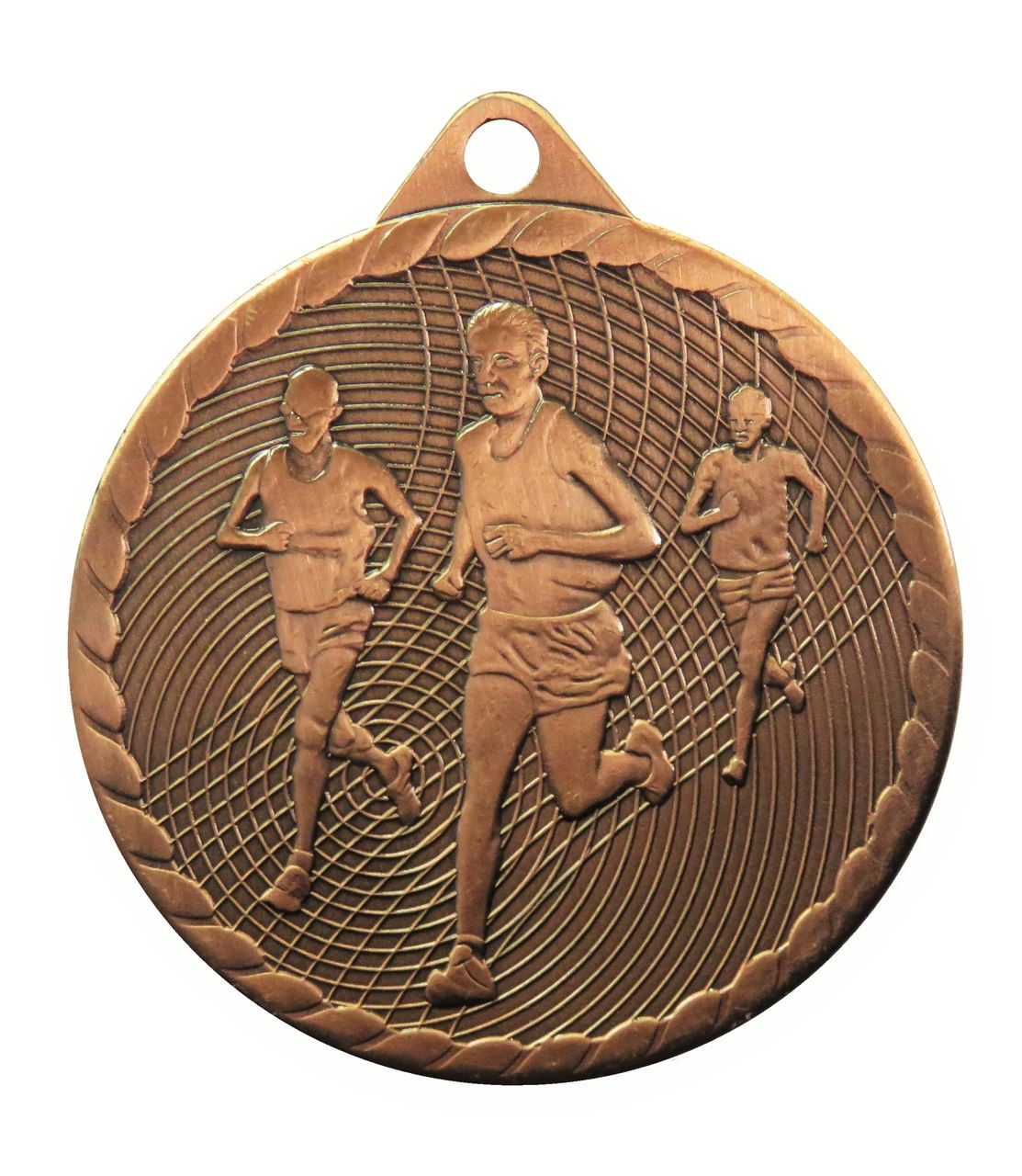Copper Isoline Economy Running Medal (size: 50mm) - 63852