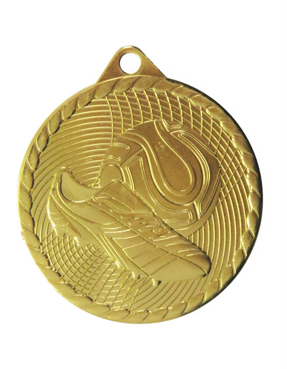 Gold Isoline Economy Football Medal (size: 50mm) - 63851