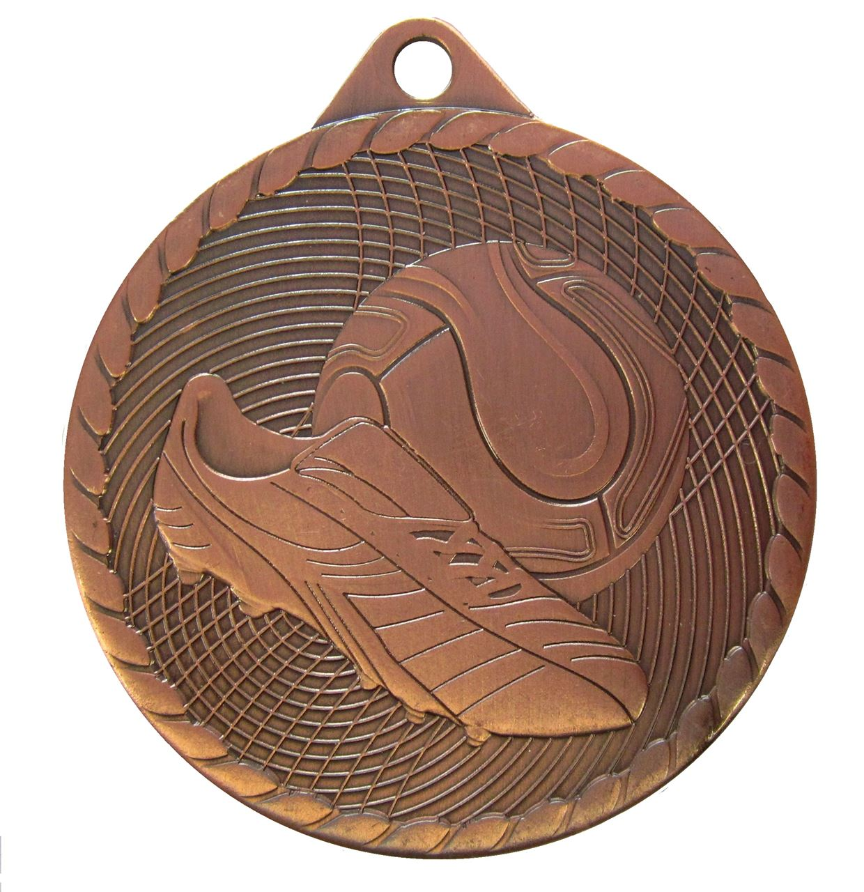 Copper Isoline Economy Football Medal (size: 50mm) - 63851