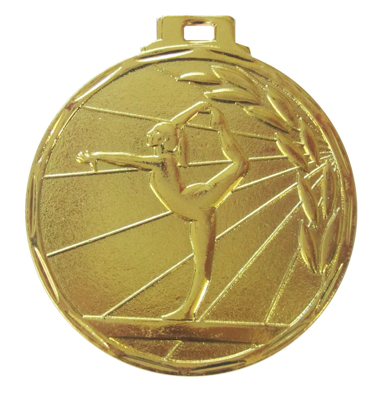 Gold Value Gymnastics Ray Medal (size: 50mm) - 7901